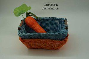 New rattan basket